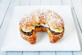Nutella & Banana Croissant Sandwich