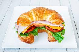 Ham & Cheese Croissant Sandwich