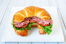 Montreal Smoked Meat Croissant Sandwich