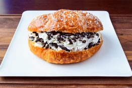 Cookies and Cream Croissant Sandwich