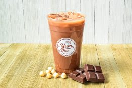 Hazelnut Chocolate Milk Tea